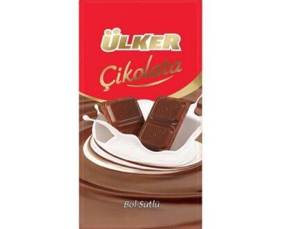 Ülker Sütlü Tablet Çikolata 80 Gr