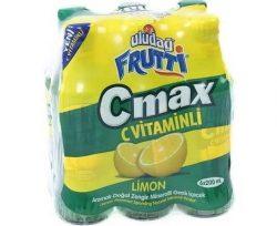 Uludağ Frutti C-Max. Limonlu Maden Suyu 6×200 ml