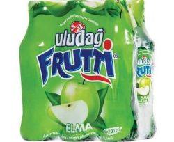 Uludağ Frutti Elmalı Maden Suyu 6×200 ml