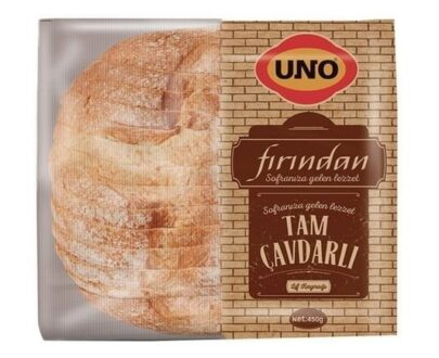 Uno Fırından Tam Çavdarlı Ekmek 450 gr