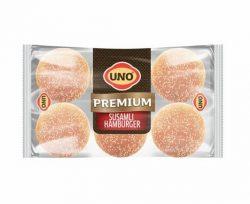 Uno Premium Susamlı Büyük Hamburger 6'lı 510 gr