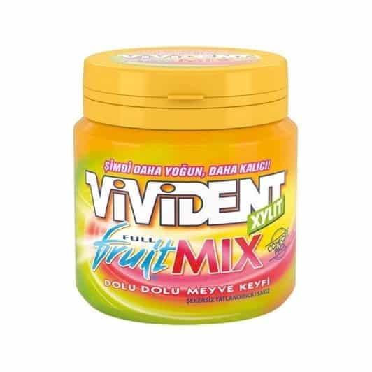 Vivident Mega Draje Bottle Full Fruit Mix 100 gr