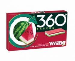 Vivident Şerit 360 3L Karpuz New Size 33 gr