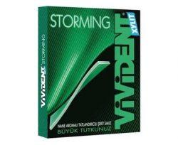 Vivident Şerit Storming Yeşil Nane 33 gr