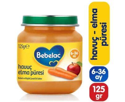 Bebelac Havuç-Elma 125 gr