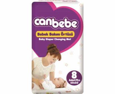Canbebe Bebek Bakım Örtüsü 60×60 8 li