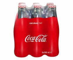 Coca Cola 6×200 ml Cam