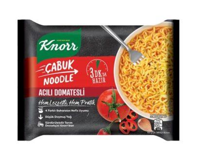 Knorr Çabuk Noodle Acılı Domatesli 67 gr