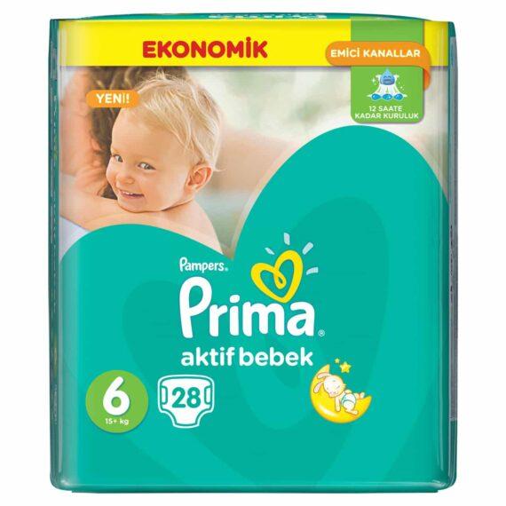 Prima Aktif Bebek 6 Beden Extra Large Mega Paket 28′ li