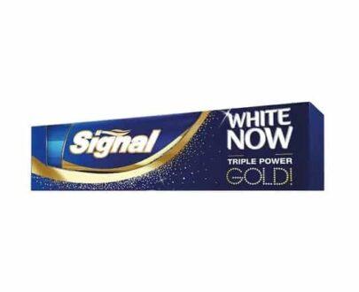 Signal White Now Gold 75 ml