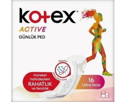 kotex active gunluk ped 16li b6f6