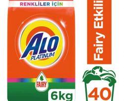 Alo Platinum Fairy Etkili Renkliler İçin Çamaşır Deterjanı 6 kg
