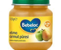 Bebelac Elma Armut Püresi Kavanoz 125 g 6 + Ay