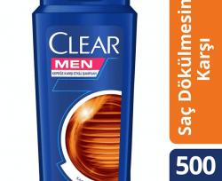 Clear Men Şampuan Saç Dökülmesine Karşı Etkili 500 ml