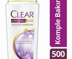 Clear Şampuan Kepeğe Karşı Etkili Komple Bakım 500 ml