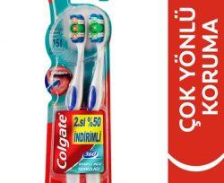 Colgate 360° Komple Ağız Temizliği Diş Fırçası Yumuşak İkili