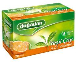 Doğadan Yeşil Çay A,C,E Vitaminli 20×1,75 g