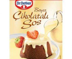 Dr. Oetker Beyaz Çikolatalı Sos 80 g