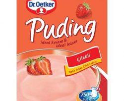 Dr. Oetker Toz Puding Çilek Aromalı 125 g