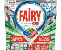 Fairy Platinum Plus 50 Tablet Hızlı Çözünme