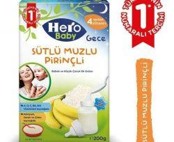 Hero Baby Sütlü Pirinçli Muzlu 200 g