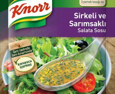 Knorr Sirkeli ve Sarımsaklı Salata Sosu 50 g