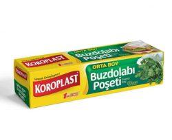Koroplast Orta Boy Buzdolabı Poşeti 24×38 cm 20'li