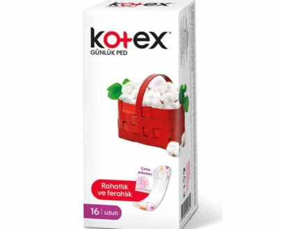Kotex Uzun Günlük Ped Tekli Paket 16'lı