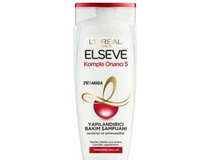 L'Oréal Paris Elseve Komple Onarıcı 5 Yapılandırıcı Bakım Şampuanı 2'si 1 Arada 450 ml