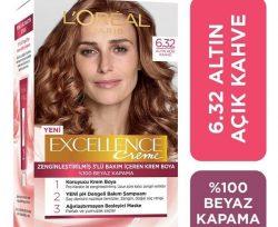 Loreal Excellence 6-32 Açık Altın Kahvesi Saç Boyası