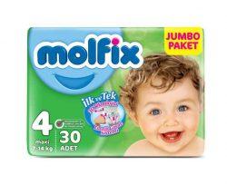 Molfix Eko Paket 4 Beden 30'lu Maxi