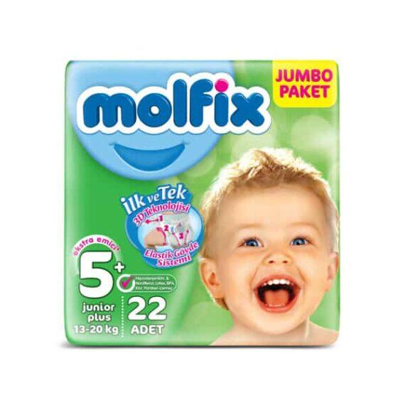 Molfix Eko Paket 5+ Beden 22'li Junior+