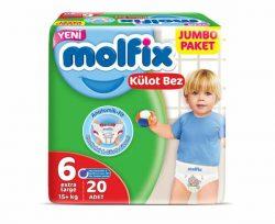 Molfix Külot Bez 6 Beden 20'lü Extra Large