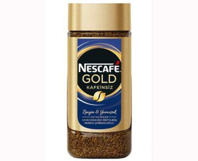 Nescafe Gold Kafeinsiz 100 g Cam