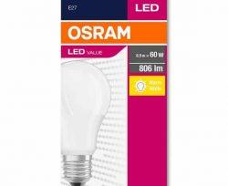 Osram 8.5-60W E27 806 lm Beyaz Işık