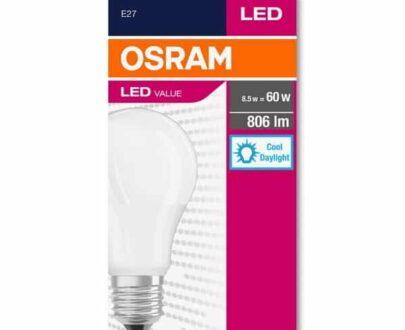 Osram 8.5-60W E27 806 lm Sarı Işık