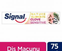 Signal Natural Elements Clove Sensitive Karanfil Özlü Diş Macunu 75 ml