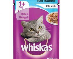 Whiskas Ton Balıklı Poşet Kedi Maması 100 g