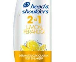 head shoulders si arada limon ferahligi sampuan ml