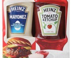 heinz ketcap gr mayonez gr