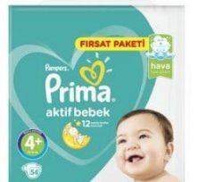 prima aktif bebek firsat paketi no maxiplus lu