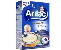 Arılac Mama Sütlü 7 Tahıllı Gece 200 gr