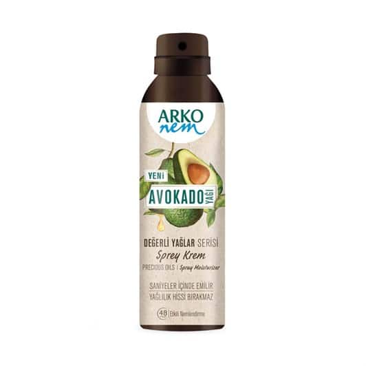 Arko Krem Sprey Avokado 150 ml