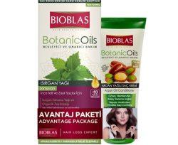 Bioblas Şampuan Botanic Oils Isırgan 360 ml+Maske 200 ml