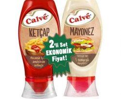 Calve İkili Set Ketçap 400 gr+ Mayonez 350 gr
