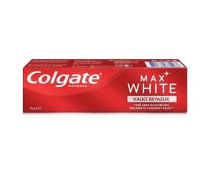 Colgate Diş Macunu Max White Kalıcı Beyazlık 75 Ml