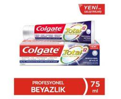 Colgate Total Profosyonel Beyazlık Diş Macunu 75 ml