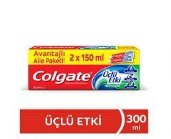 Colgate Üçlü Etki Diş Macunu 150 ml + 150 ml
