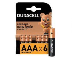 Duracell AAA Kalem 6 lı