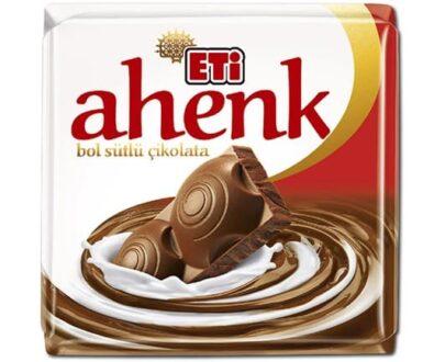 Eti Ahenk Sütlü Kare Çikolata 60 gr